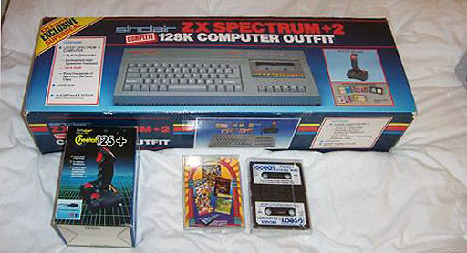 в себя ZX Spectrum +2,